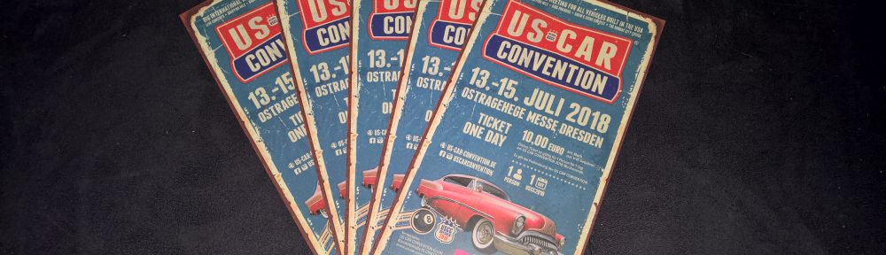 Freikarten US Car Convention 2018