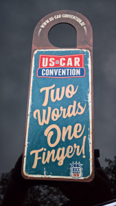 US Car Convention 2018 - Einhänger Front