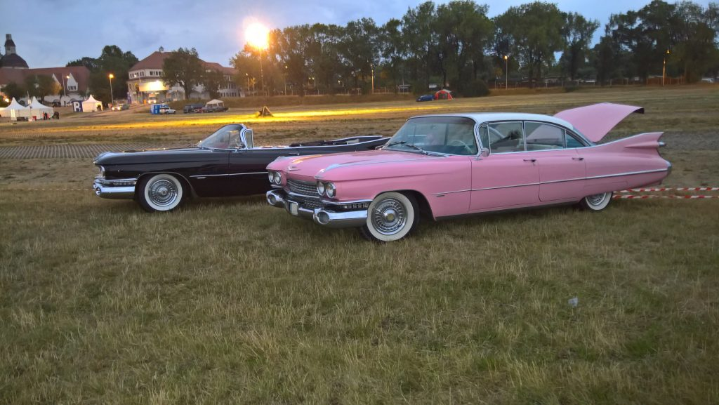 US Car Convention 2018 - 1959er Cadillacs