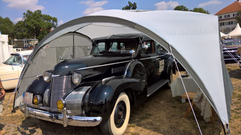 US Car Convention 2018 - 1939 Cadillac 2, Jahresende 2019
