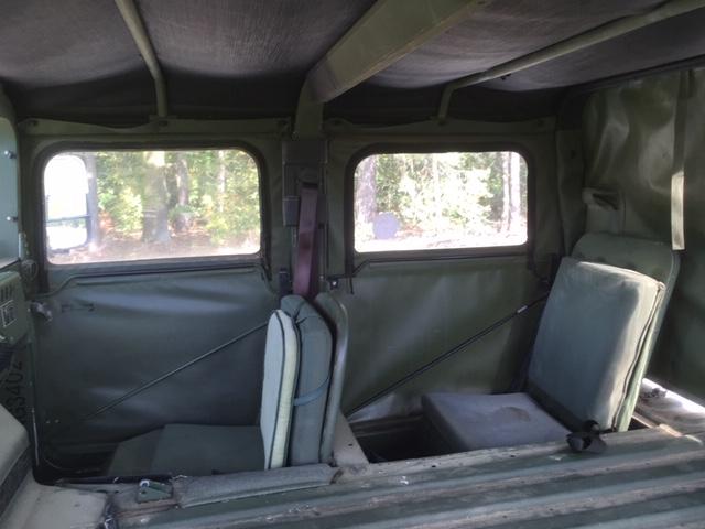 Hummer H1 - Innen2